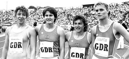 east german swimmers steroids pictures